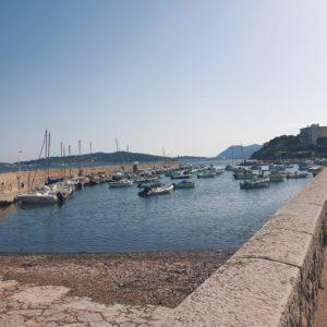 Petit port de pêcheurs de Toulon