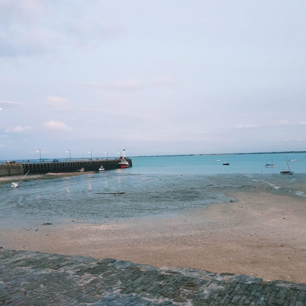 Le Port de la Houle pour nous souhaiter la bienvenue